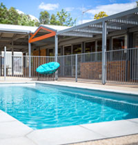 Holiday house in Beechworth with swimming pool